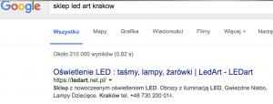 Odnośnik do Twojego PrestaSHop w wynikach wyszukiwania Google Jak poprawic?