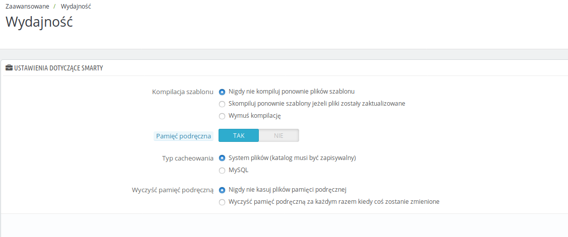 2528f612a7058 PrestaShop 1.6 – sposoby na przyśpieszenie sklepu – Blog Użytkownika ...